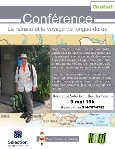journaux et médias - Affiche Conference