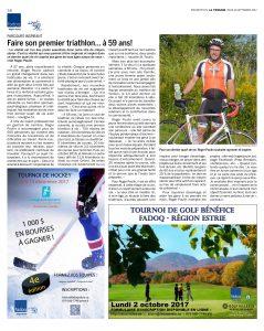 journaux et médias - Cahier FADOQ